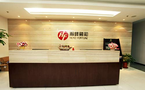 浦东张江logo墙设计制作案例效果